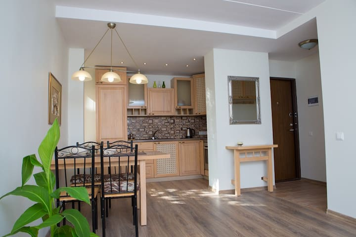Cozy Old Town Apartment - Klaipėda - Apartment
