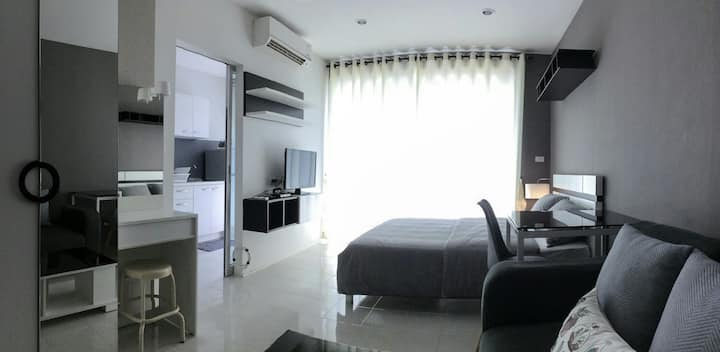 Condominium Studio Type 30 sq m.