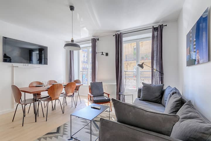 Superb apartment - Rivoli / Louvre - 2 bedrooms