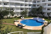 Modern Suite in private complex and car for rent
