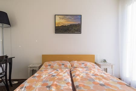Cozy room in quiet area, close to city center. - Flat