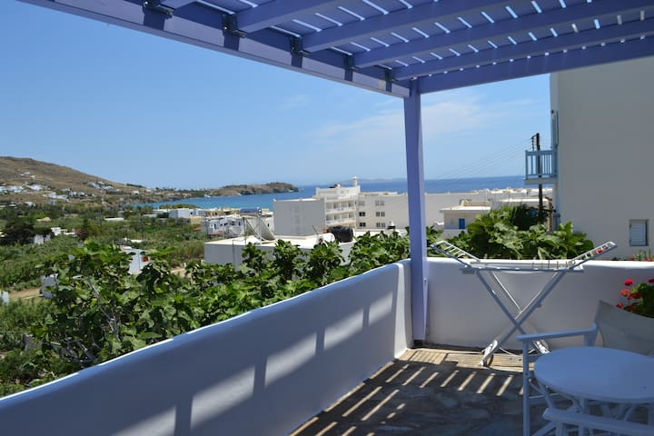 Double Studio with Seaview 150 m by the beach