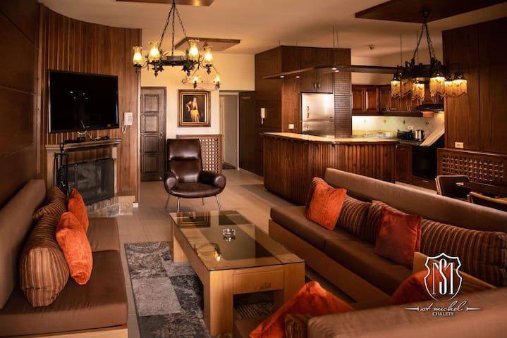 Luxury chalet, Cedars, Lebanon.