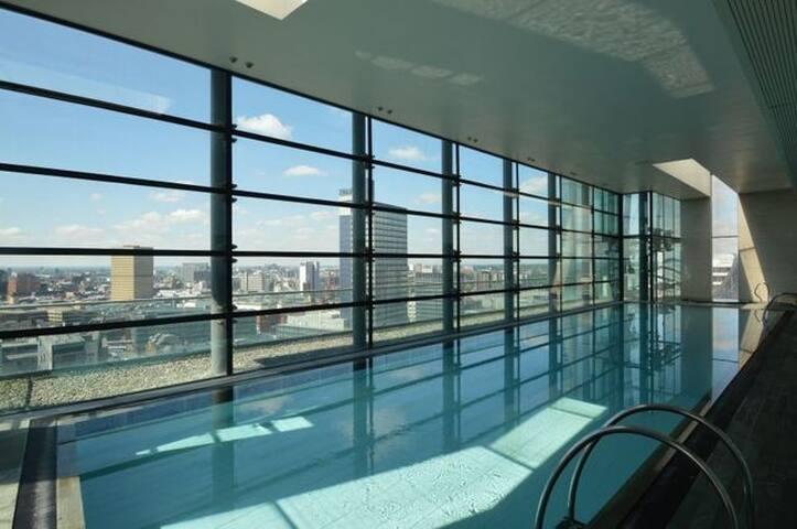 On-site 20 meter swimming pool