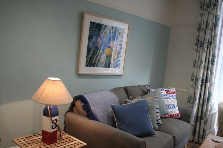 Private first floor apartment in family home.