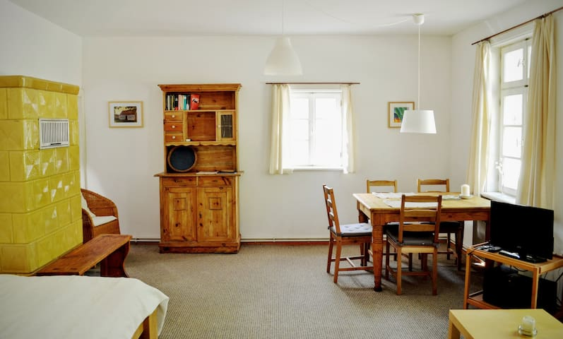 """Das Alte Köhlerhaus - mit Sauna - FeWo """"Briesen"""" - Temmen-Ringenwalde - Apartmen"""