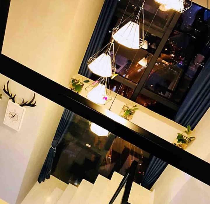 MrS陈~陈小姐&阳光书宿 秋千loft 天府三街/华府大道/环球中心/软件园/地铁免费提供一个口罩