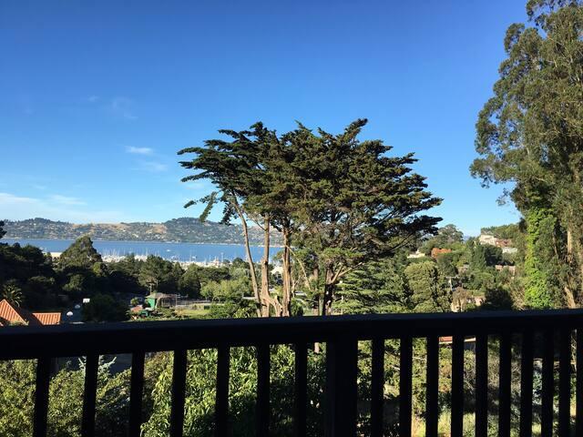 Unpretentious Sausalito Home close to nature