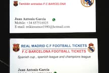 You can reserve the football tickets! Contact us :)