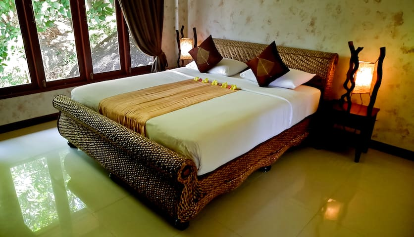 2 identical spacious Bedrooms