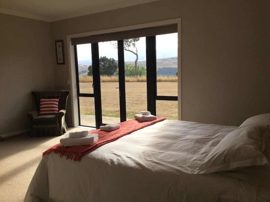 View of the Ruahine ranges from you room