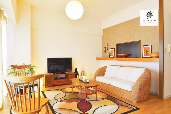 Ocean view Tropical style room ☆ 2F