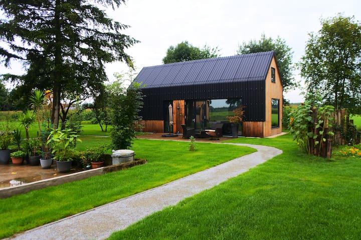 Mooi, luxe vakantie huis midden op het platte land