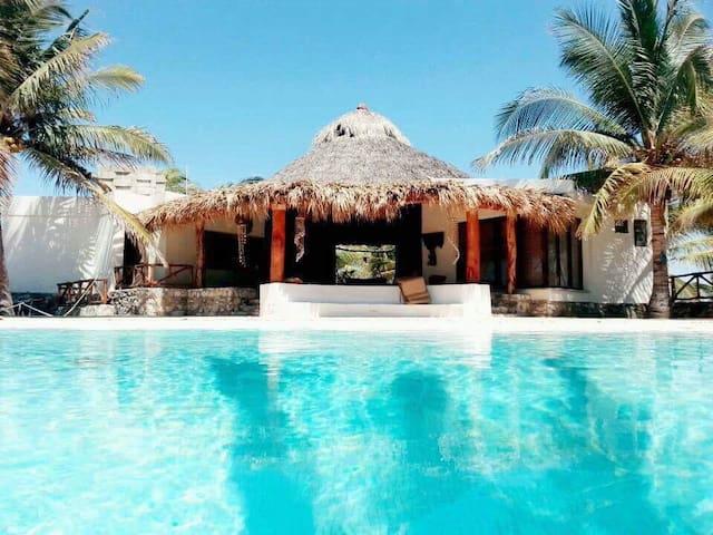 Paraíso Natural en Playa Ventura, Guerrero
