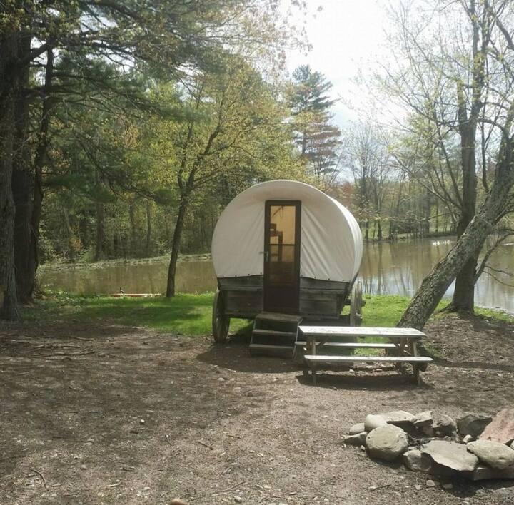 Cowboy adventure camping