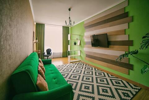 Эко пространство на Ромашке. Квартира для отдыха.