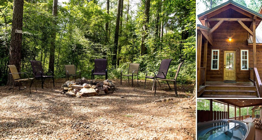 Outdoor fire pit with seating to accommodate your family/friends