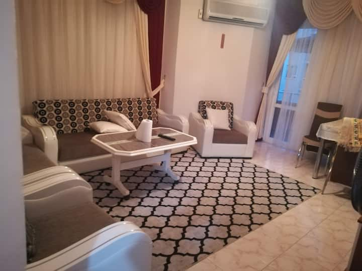 Fully furnished , Sea Side,2+1 Apartment Mahmutlar