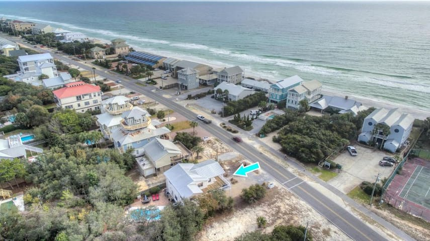 30A First Tier Beach House w/ Heated, Private Pool
