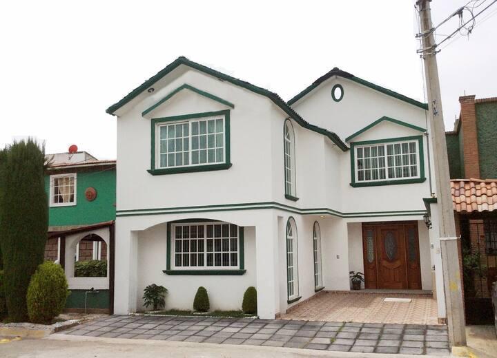 Hermosa Casa en Pachuca Vive en un Excelente Lugar