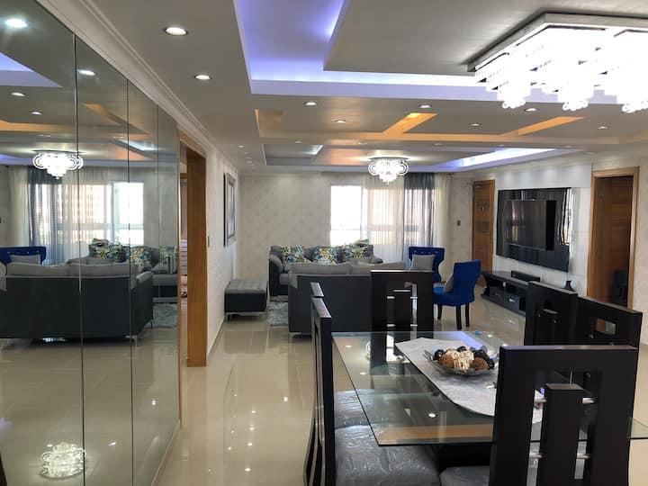 Apartment 2 rooms 2.5 bath - view ocean, beautiful