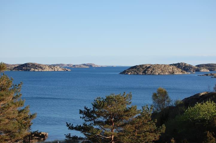 Seaview at Bua residence near Smögen & Kungshamn - Kungshamn