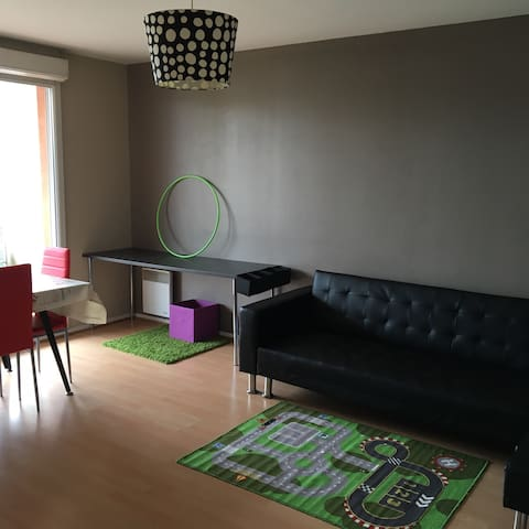 Lovely 2BD&parking near Orly&Paris - Longjumeau