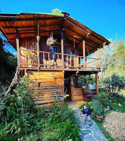 Cabaña Santa Elena, Natural, Campestre y Tranquilo