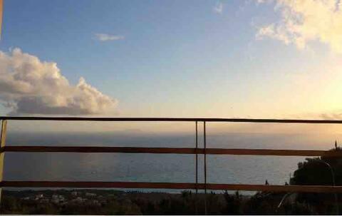 Balkon nad Morzem Jońskim:)