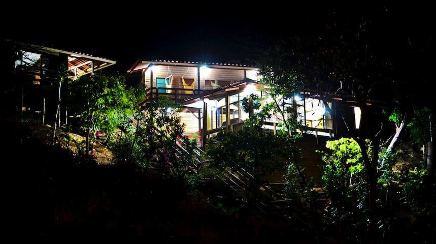 Casa Malinche El Remanso, Nicaragua - ซานฮวนเดลซูร์ - บ้าน
