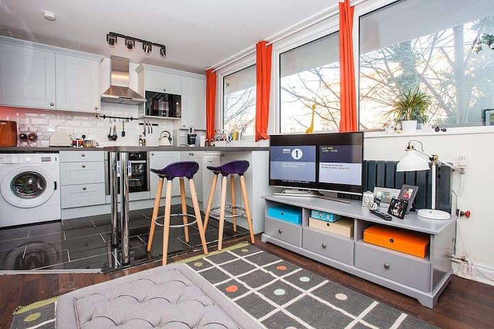 Peckham! Newly refurbished 1 bed with balcony
