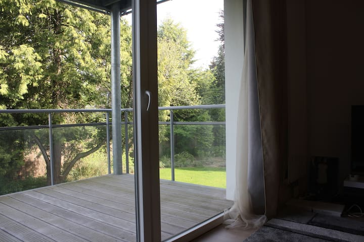 T2 avec balcon en face du parc Barbieux