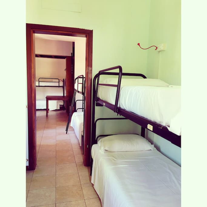 Cheap Rental Rooms: 8 Beds Room Private Bathroom -cheap