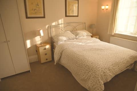 double bedroom with beautiful surroundings