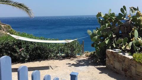 Hus med fantastisk utsikt over havet