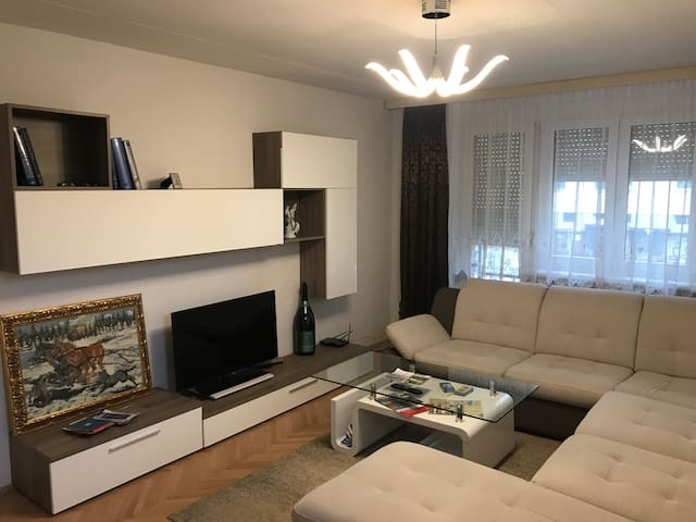 Comfortable apartment, city center, parking