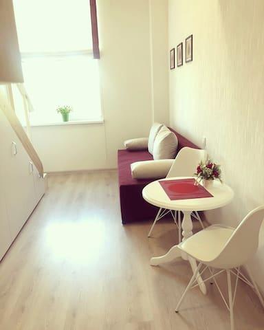 Двухуровневая квартира на Московском проспекте