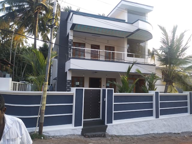 Fully covered wall and gates ensure safty and privacy