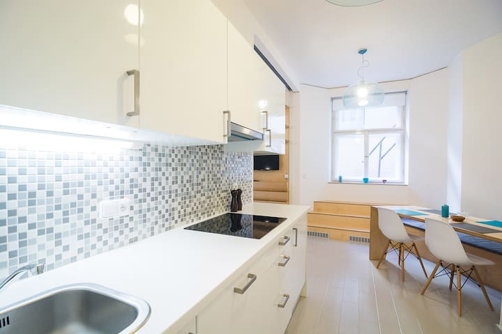 Studio Flat near Prague Castle and Letna, DEJV - Prague - Apartmen