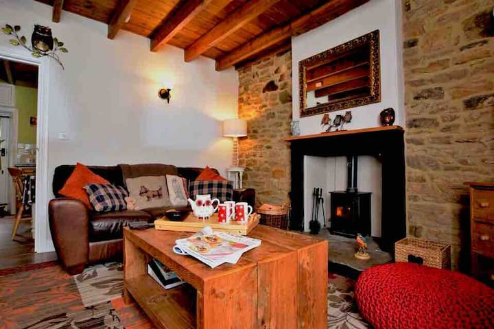 KINGFISHER COTTAGE. RURAL, RIVERSIDE & NEAR KYNREN