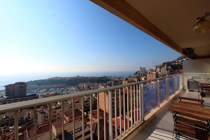 Panoramic Large & Cozy Studio,Monaco & SeaView #12