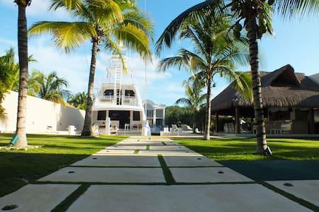 Confortable y Lujosa Casa En Puerto Aventuras