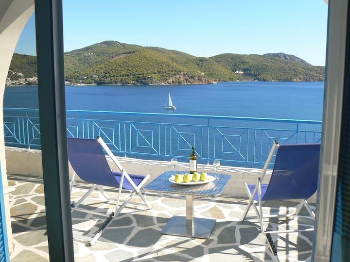 Jenny's Sea View House at Poros Island.