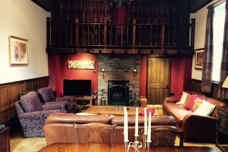 Beautiful converted chapel with gallery bedroom. - Chester - Annat