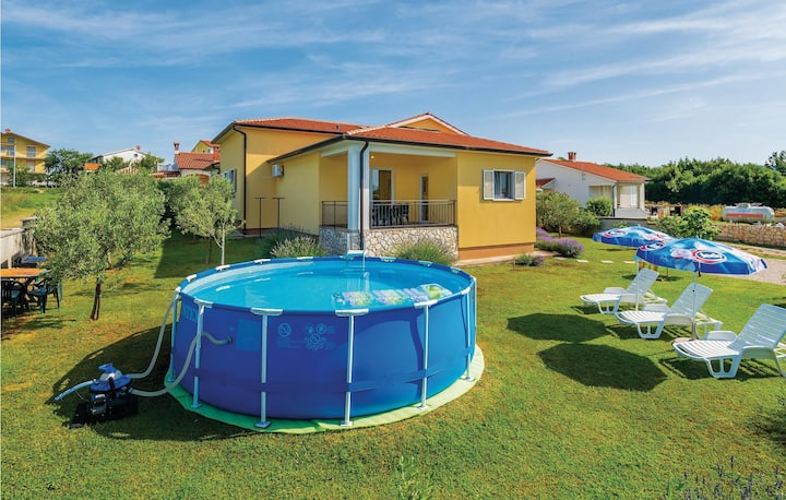 Beautiful home in Nedescina with WiFi and 3 Bedrooms