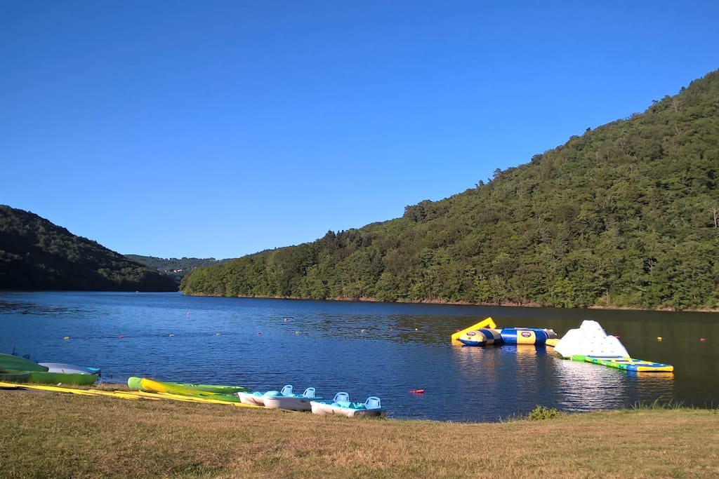 Le lac de Confolant