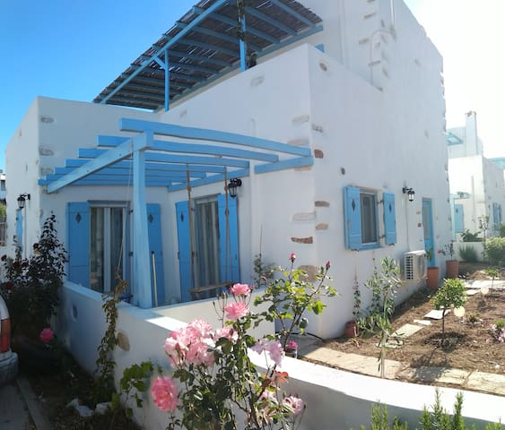 Traditional Cycladic Vacation Home in Aliki