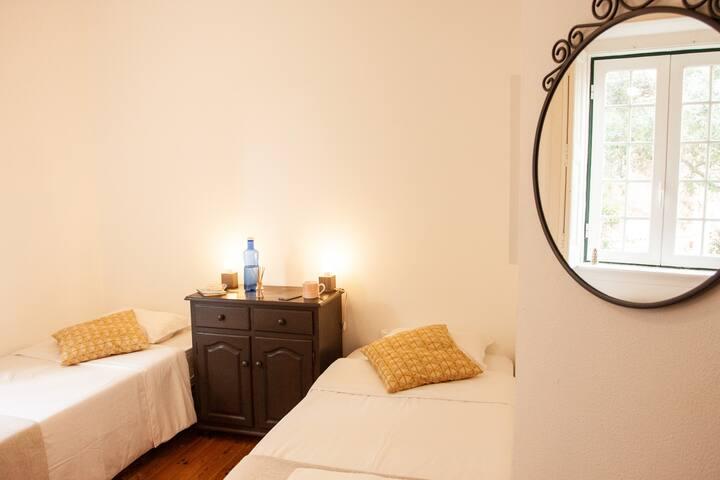 Double or triple room only 800mt Tamariz beach