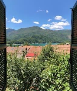 Casa con vista lago a Borgo San Pietro