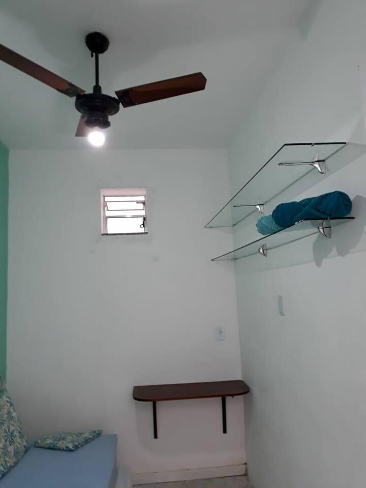 Quarto 2 Duplo/Casal Hóstel 219 Centro Niterói RJ